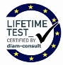 LIFETIME TEST CERTIFIED