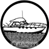 diving stamps motif 1202 - Boat