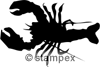 diving stamps motif 5317 - Crab, Shrimp, Lobster