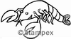 diving stamps motif 7301 - Crab, Shrimp, Lobster