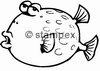 diving stamps motif 2009 - Pufferfish/Blowfish