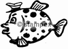 diving stamps motif 2013 - Pufferfish/Blowfish