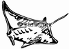 diving stamps motif 3600 - Ray/Skate