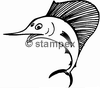diving stamps motif 2008 - Swordfish, Marlin